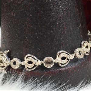 Jewelry - Sterling Silver & Smoky Topaz Bracelet